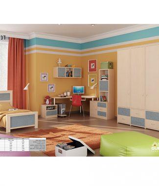 חדר ילדים דגם דניאל