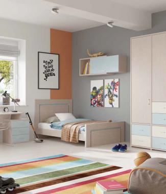 חדר ילדים דגם אנאבל