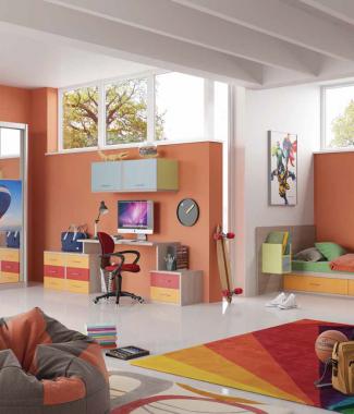 חדר ילדים דגם קקטוס