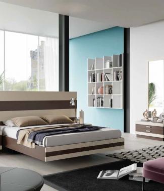 חדר שינה דגם זברה